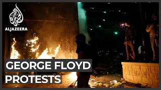 George Floyd: Protests over deadly arrest rock US's Minneapolis