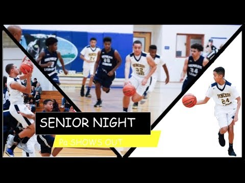 Princess Anne Middle School Senior Night! No Competition