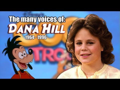 Many Voices of Dana Hill Animated Tribute  Goof Troop  Tom and Jerry  Darkwing Duck