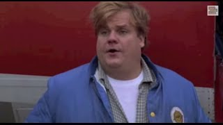 Tommy Boy (1/10) Best Movie Quote - Were you calling from a walkie-talkie? (1995)