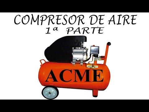 COMPRESOR DE AIRE, Su Uso Y Funcionamiento.... thumbnail