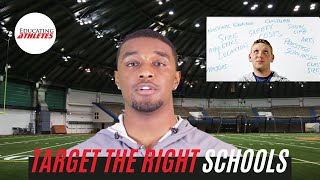 College Football Recruiting - Target the Right Schools