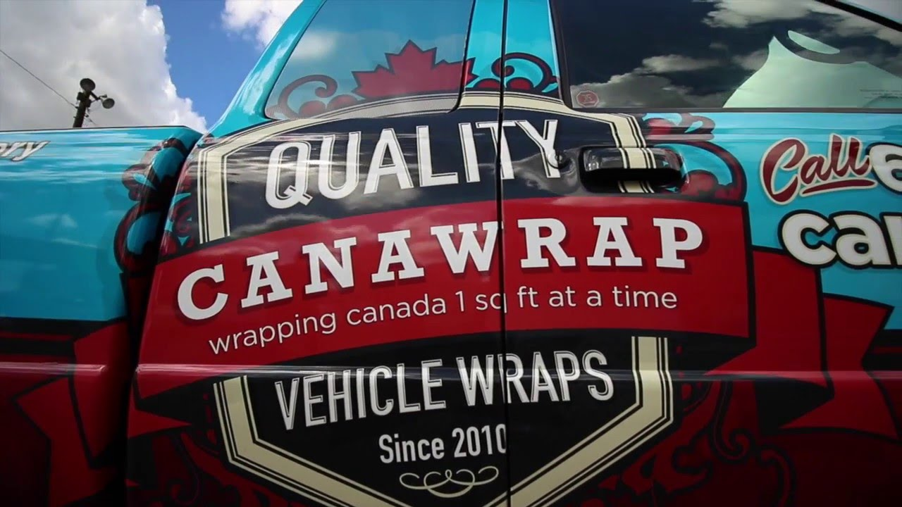 Vehicle Wraps - Frequently Asked Questions | Canawrap