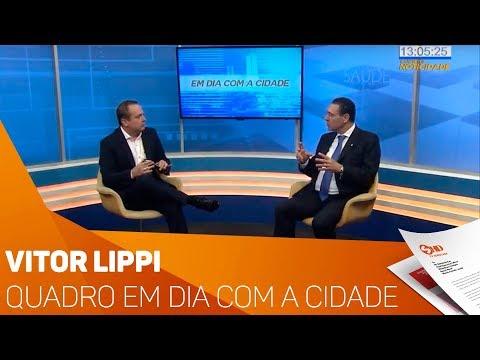 Quadro Em Dia com a Cidade: com Vitor Lippi - TV SOROCABA/SBT