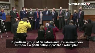 VIDEO NOW: Bipartisan gr๐up of Senators and House members introduce a $908 billion COVID-19 relief