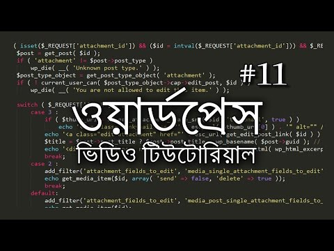 11 - Admin Panel: Export, Import and Tools ~ Bangla