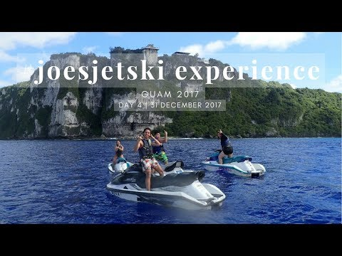 MY FIRST JET SKI RIDE | Guam Day 4 #Holidays2017