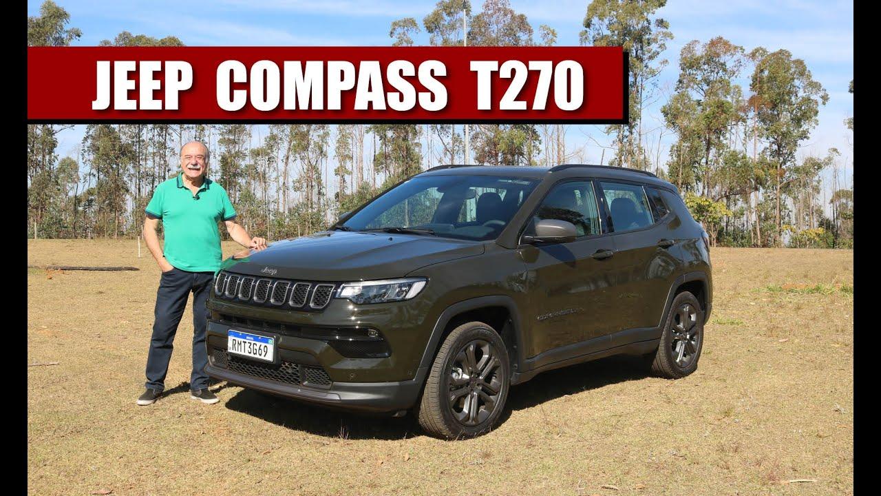 TESTE Jeep Compass Longitude T270 2022   com Emilio Camanzi