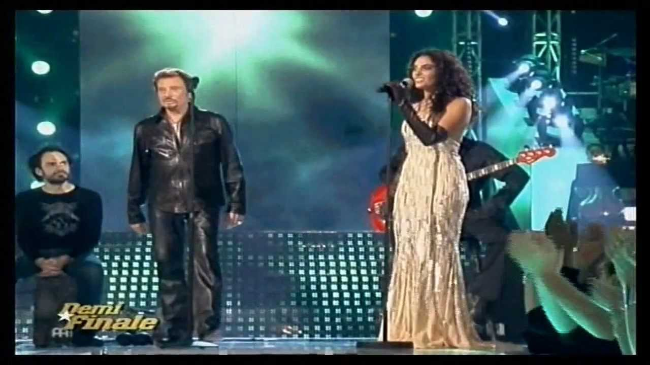 star academy 6 cynthia et johnny hallyday marie youtube. Black Bedroom Furniture Sets. Home Design Ideas