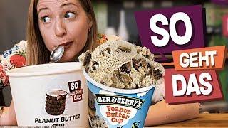 Peanut Butter Cup Eis SELBER MACHEN! | So Geht Das