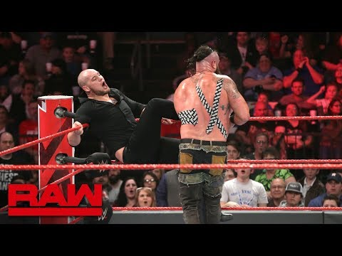 Braun Strowman vs. Baron Corbin - Tables Match: Raw, Feb. 18, 2019 thumbnail