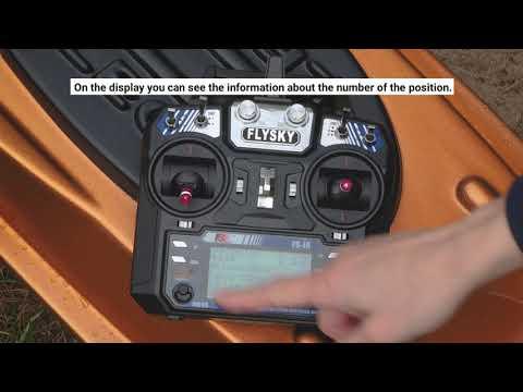 GPS Autopilot FB Pilot V3  For  Carp Boat & Bait Boat