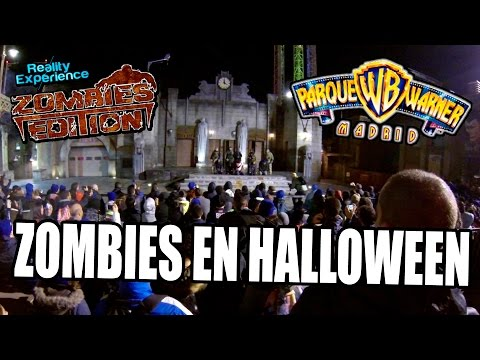REALITY EXPERIENCE ZOMBIES EDITION 2016 | Survival Zombie en Halloween Parque Warner Madrid!