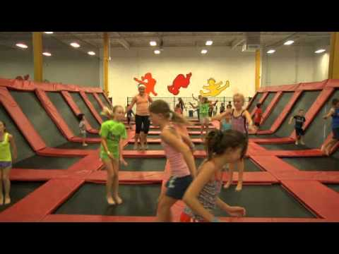 Xtreme Trampolines - New Kids Basketball Foam Pit Dodgeball Commercial