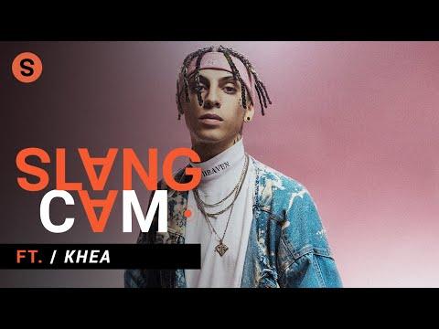 KHEA sobre qué lo inspiró a comenzar su carrera, el éxito y firmar con Interscope | SlangCam