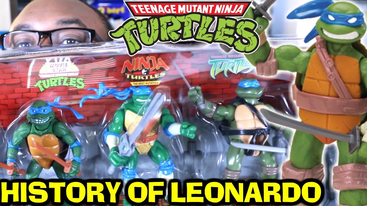 tmnt 2003 leonardo toy