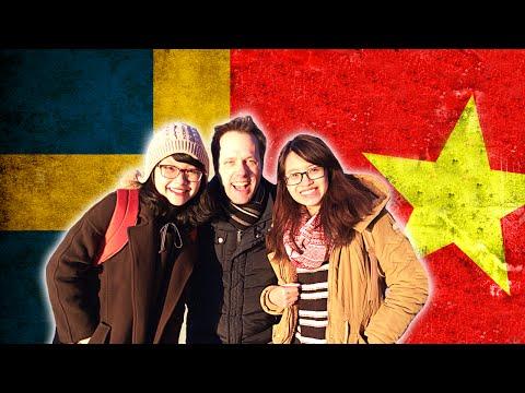 Swedish guy trying to speak Vietnamese - Language challenge