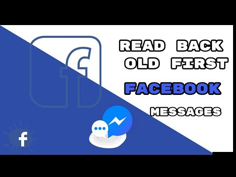 How To Return Back To Your First Facebook Message Very Easily See Old Messages In - (2019)