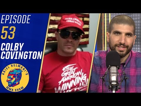 Colby Covington happy to see Ben Askren lose; rips Robbie Lawler   Ariel Helwani's MMA Show