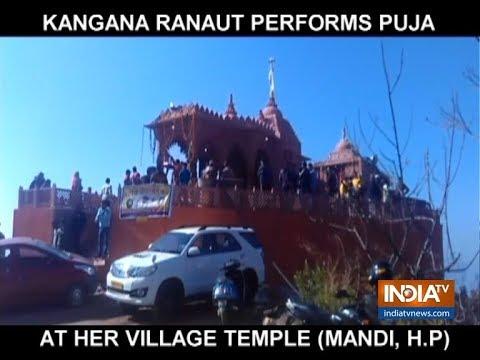 Manikarnika star Kangana Ranaut builds a temple in Himachal Pradesh