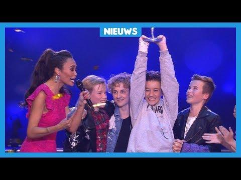 Junior Songfestival gewonnen door jongensband Fource