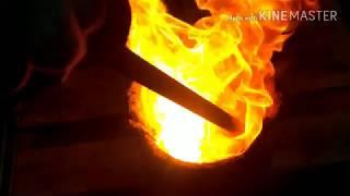 познавательное. сжигание железа в каменном угле