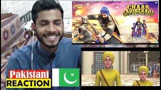 Pakistani Reaction on Chaar Sahibzaade  ਚਾਰ ਸਾਹਿਬਜਾਦੇ : Official Trailer : Latest Punjabi Movies