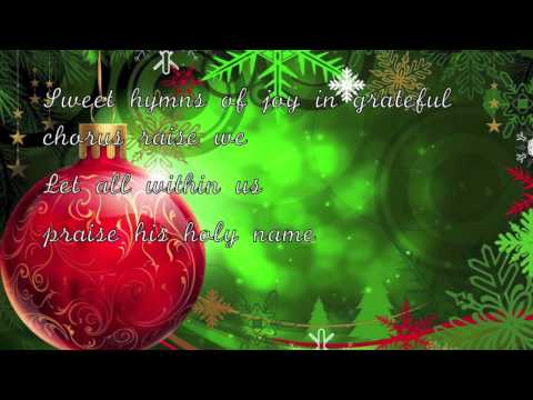 Celine Dion - O Holy Night (Lyrics)