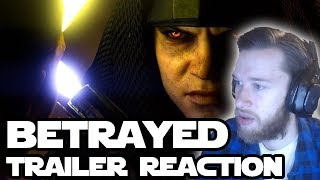 Star Wars: TOR - Knights of the Eternal Throne Betrayed Trailer Reaction