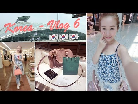 SHOPPING IN KOREA ♥ VLOG 6 - LEAVING KOREA - SHOPPING IN INCHEON AIRPORT & HOME SWEET HOME ♥