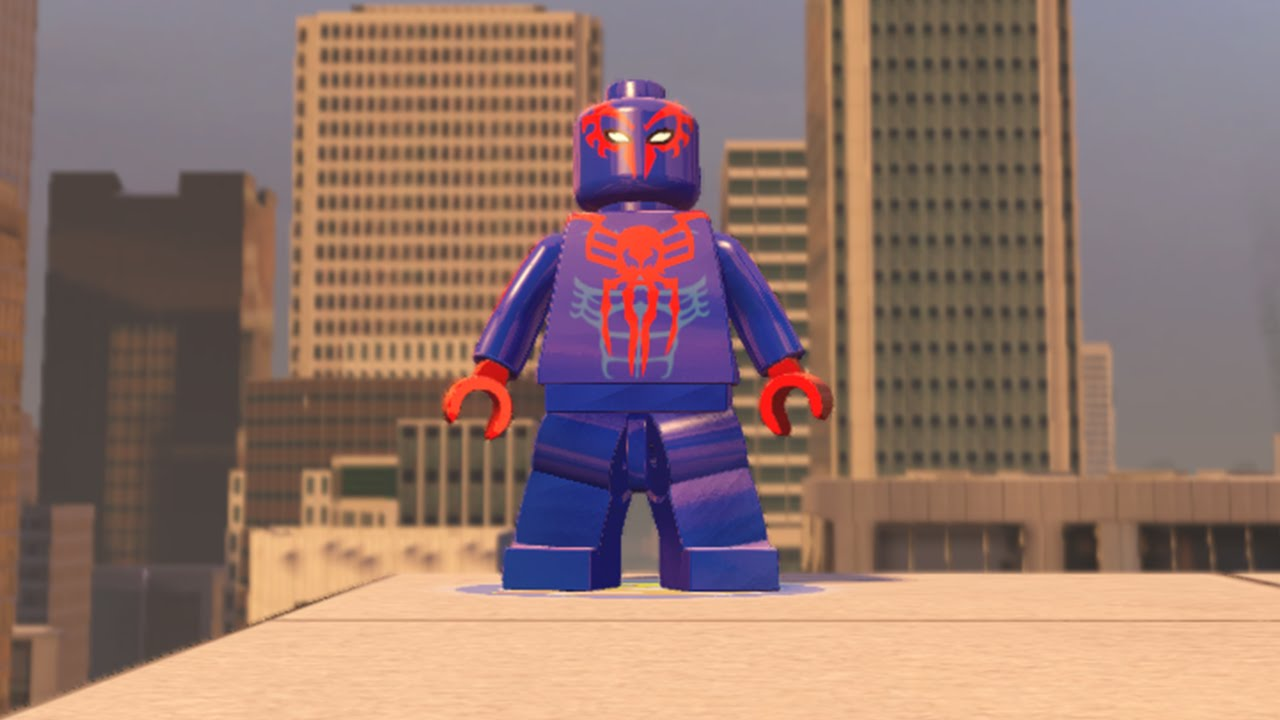 LEGO Marvel Avengers - Spider-Man 2099 (MOD) - YouTube