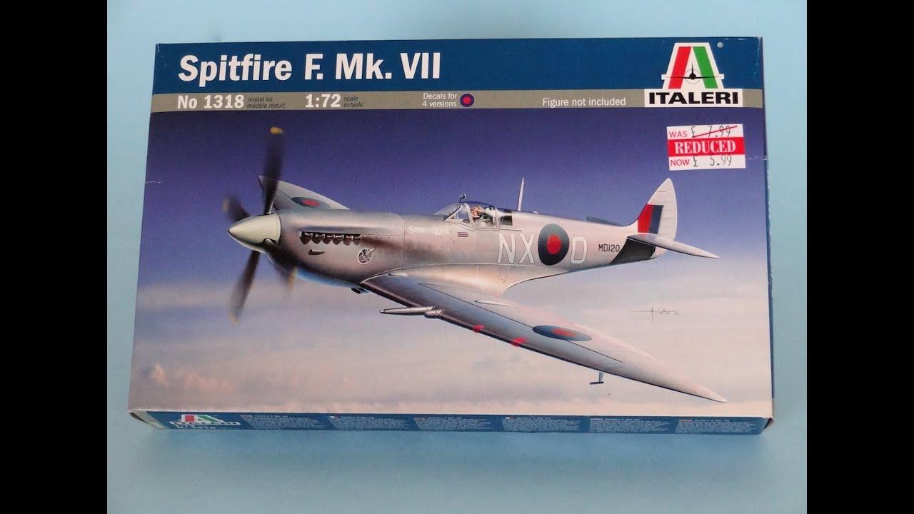 Italeri 1/72 Spitfire IX by Scott Van Aken