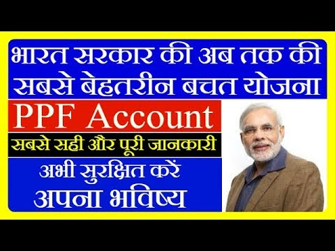 PPF Account Details In Hindi / New Rule NRI /Scheme Form Post Office & SBI /Interest Rate Calculator