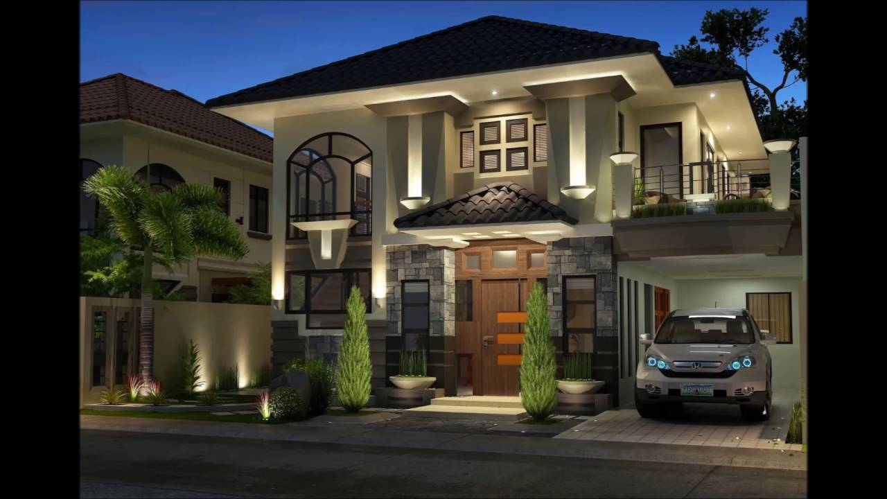 Dream House Design Philippines Modern House - YouTube on Modern Style Houses  id=93752