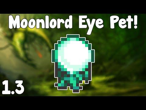Terraria 1.3 - Moonlord Eye Light Pet! - Terraria 1.3 Guide New Light Pet