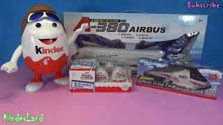 kinder eggs planes airbus a 330 lufthansa aisan airlines turkish airlines helicopter airbus a380