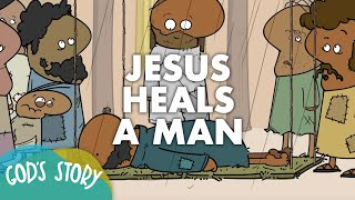 Gambar cover God's Story: Jesus Heals A Man