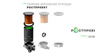 Сборные дренажные колодцы Ростпроект