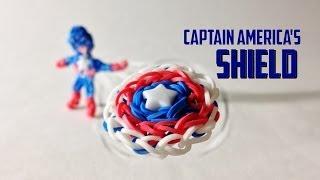 Rainbow Loom Avengers Series: Captain America's Shield