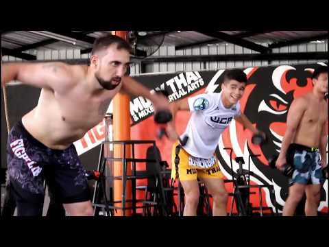 Ultimate MMA HIIT Workout (5x5 Tiger Muay Thai Circuit)