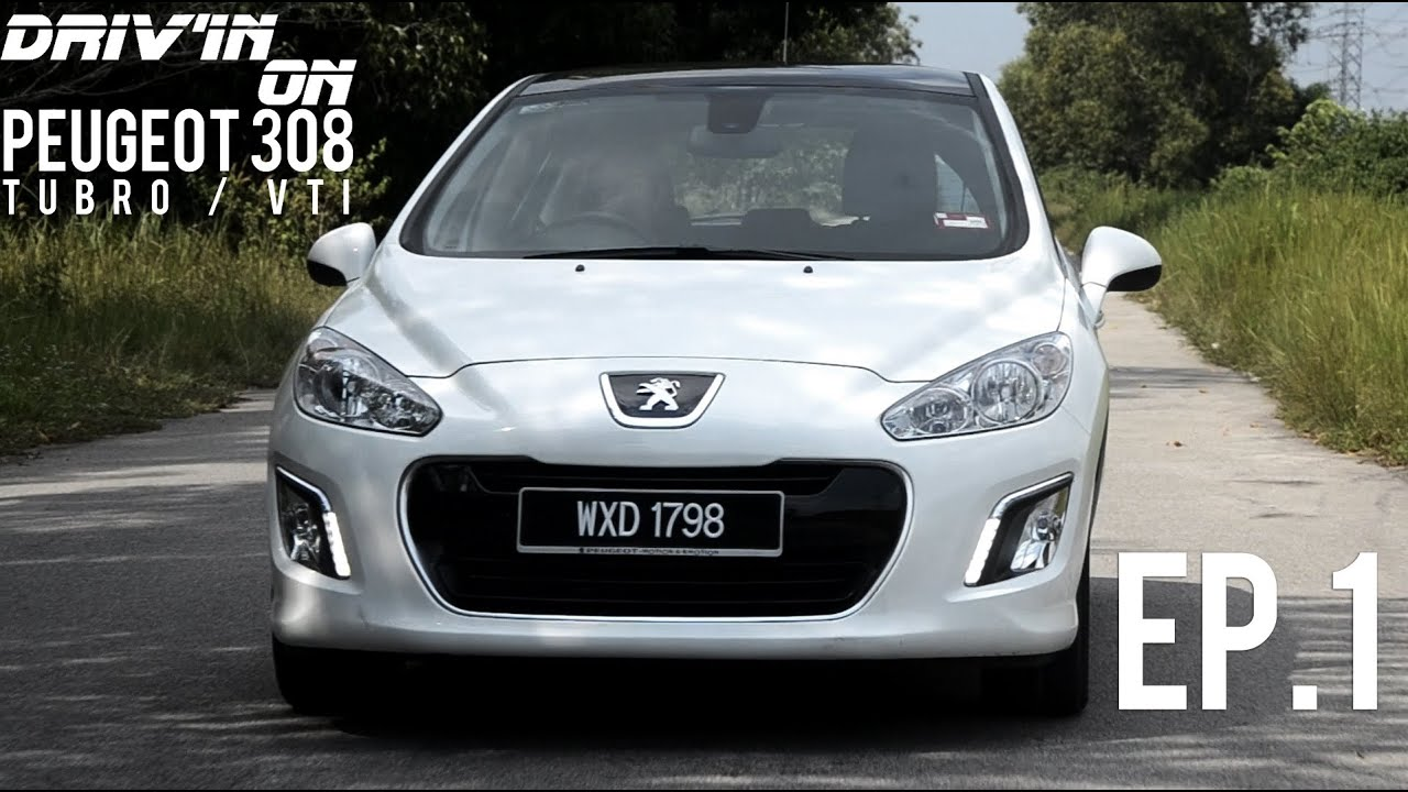 peugeot 308 review -- drivin on ep 1 - youtube