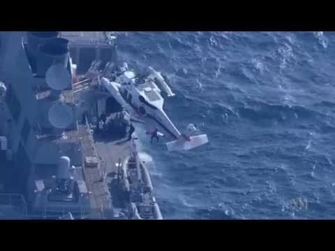 USS Fitzgerald collision, helo medevac report