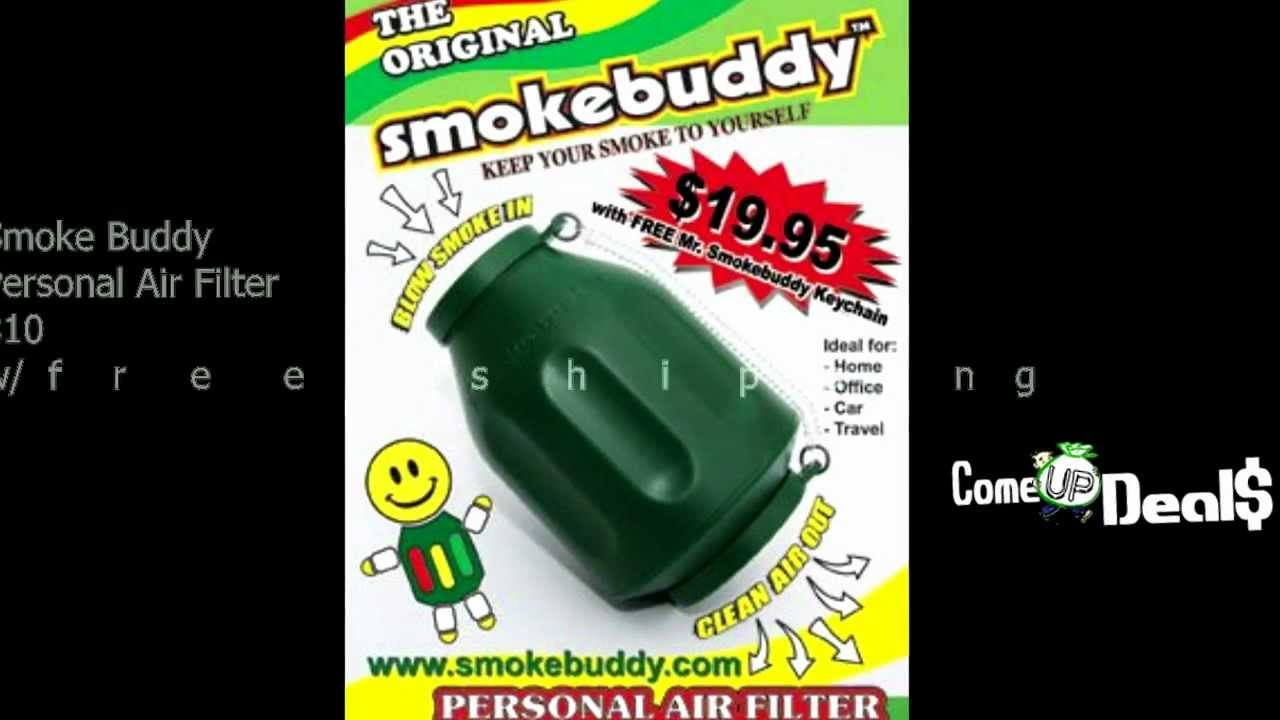 does the smoke buddy really work on marijuana smoke youtube