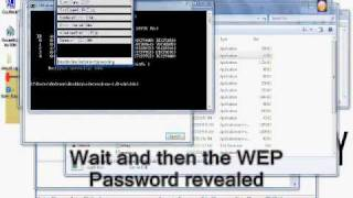 hacking WEP wireless networks with windows