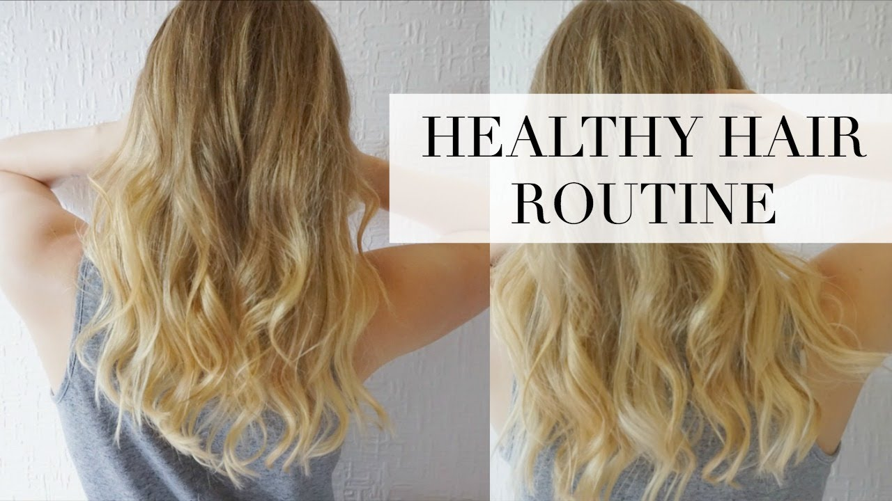 Stop Hair Breakage And Shedding Blonde Haircare Routine