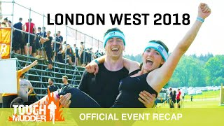 At the Tough Mudder London West obstacle course race, participants ...