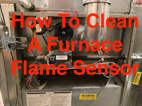 How to CLEAN Furnace Flame Sensor  [Step by Step]