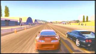 Fast and the Furious Supra vs Ferrari