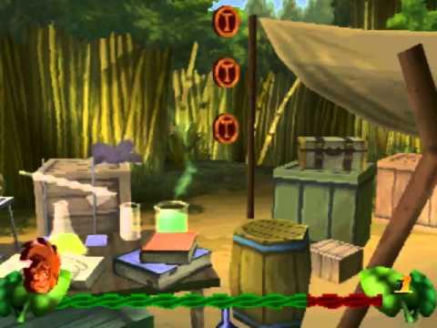 стрим-прохождение игры Disneys Tarzan (Sony Playstation 1)
