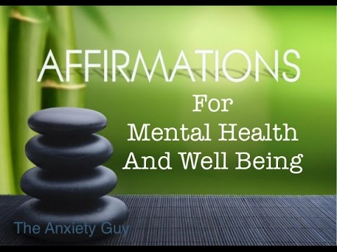 Law Of Attraction Affirmations For Anxiety, Chronic Stress, Panic Attacks, Depression